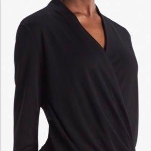 The Deneuve Top in Black